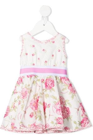 MONNALISA Mädchen Bedruckte Kleider - Rose-print sleeveless dress