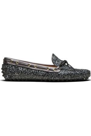 CAR SHOE Damen Halbschuhe - Glitter-effect driving shoes