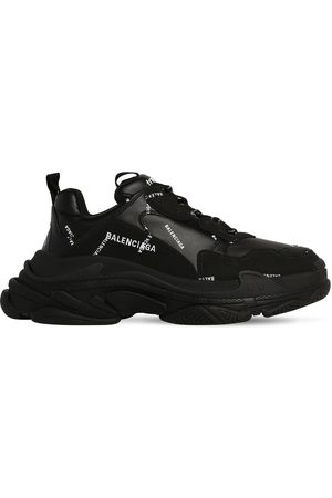 "Balenciaga Herren Sneakers - Sneakers Aus Mesh Und Kunstleder ""triple S"""