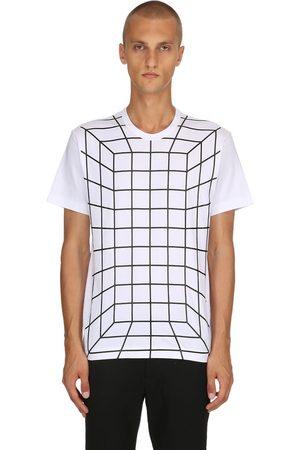 Comme des Garçons T-shirt Aus Baumwolljersey Mit Graphischem Druck