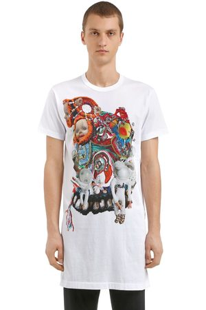 Comme des Garçons T-shirt Aus Baumwolljersey Mit Druck