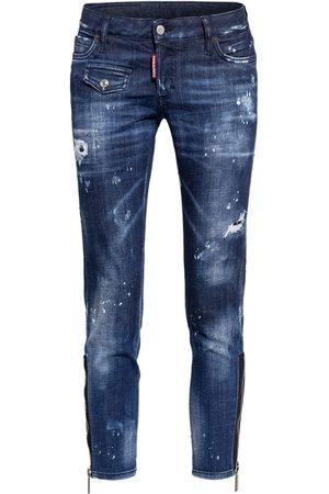 Dsquared2 Damen Slim - 7/8-Jeans Jennifer blau