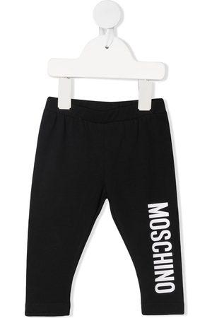 Moschino Logo-print leggings