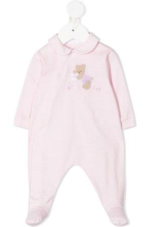 Il gufo Schlafanzüge - Teddy-motif cotton pajamas