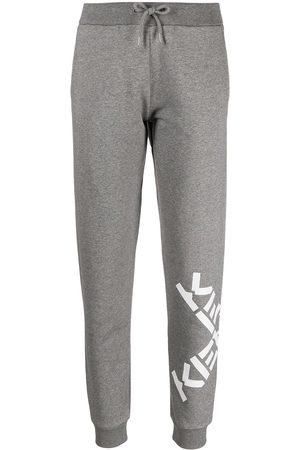 Kenzo Big X logo-print track pants