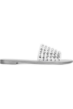 Giuseppe Zanotti Damen Clogs & Pantoletten - Adelia crystal-embellished slides