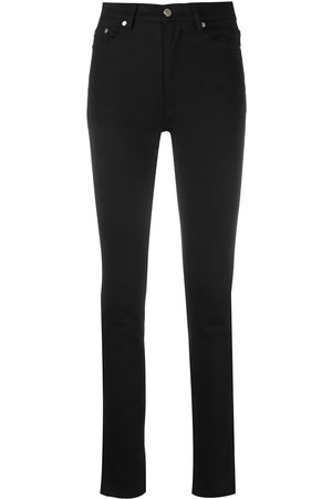Ami High-waisted slim-fit jeans