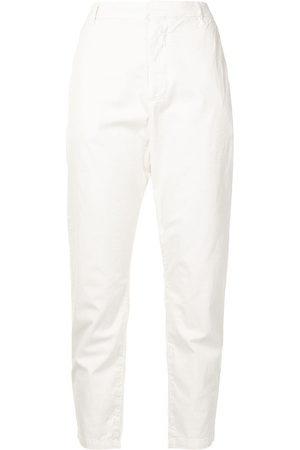 NILI LOTAN Cropped tapered-leg trousers
