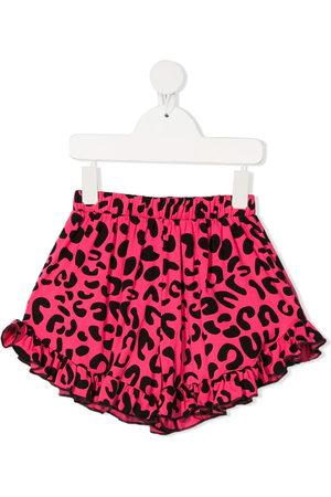 Wauw Capow by Bangbang Augusta ruffle-trimmed shorts