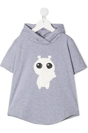 Wauw Capow by Bangbang Hi Buddy hooded T-shirt
