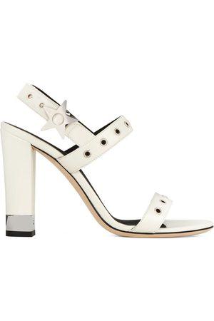 Giuseppe Zanotti Damen Sandalen - Eyelet detail sandals