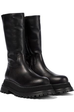 Burberry Damen Stiefeletten - Stiefel aus Leder