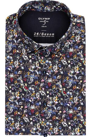 Olymp Herren Business - Hemd Level Five Body Fit blau