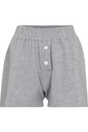 LIVE THE PROCESS Shorts aus einem Kaschmirgemisch