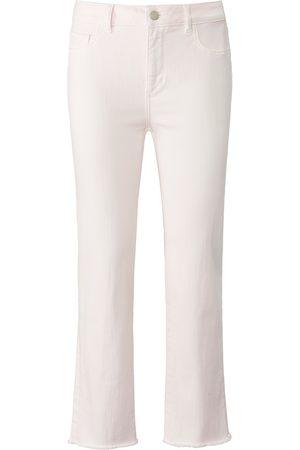 DL1961 Damen Straight - 7/8 Jeans Modell Mara Straight Mid Rise rosé