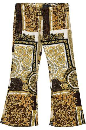 VERSACE Leggings Barocco Patchwork