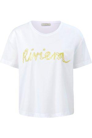 Margittes Damen Shirts - Rundhals-Shirt weiss