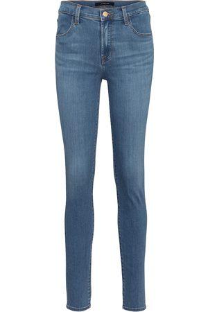 J Brand High-Rise Skinny Jeans Maria