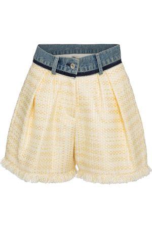 SACAI Shorts aus Tweed