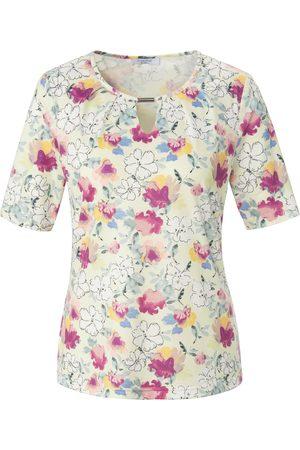 mayfair by Peter Hahn Damen Shirts - Rundhals-Shirt 1/2-Arm mehrfarbig