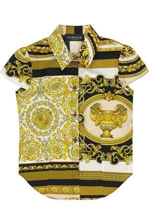 VERSACE Hemd Barocco Mosaic aus Baumwolle