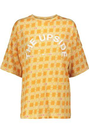 The Upside T-Shirt Carla aus Baumwolle und Leinen