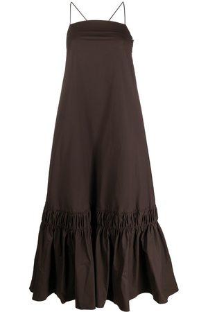 Jil Sander Damen Freizeitkleider - Ruffle-hem long dress
