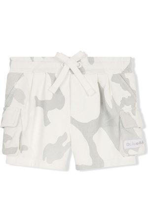 Dolce & Gabbana Camouflage print cargo shorts