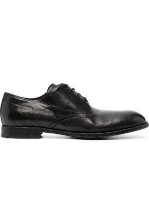 Dolce & Gabbana Vintage-finish calfskin Derby shoes