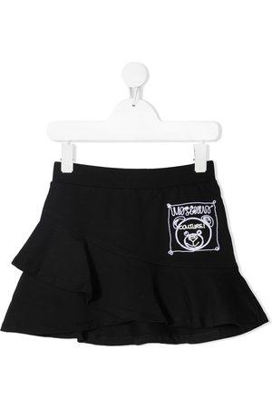 Moschino Toy Bear ruffle skirt
