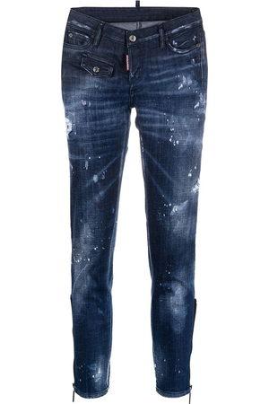 Dsquared2 Damen Skinny - Jennifer cropped skinny jeans
