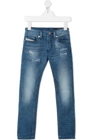 Diesel Jungen Jeans - Slim faded jeans