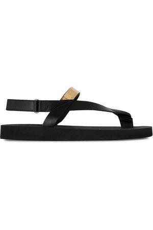 Giuseppe Zanotti Herren Sandalen - Metallic detail thong sandals