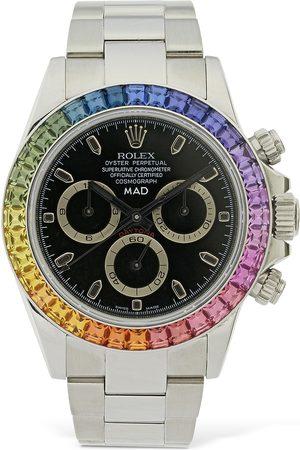 "MAD Paris 40mm Uhr ""rolex Co-lab Daytona Rainbow"""