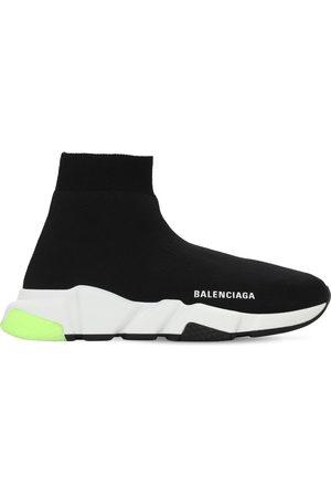 "Balenciaga Damen Sneakers - 30mm Hohe Sneakers Aus Strick ""speed"""