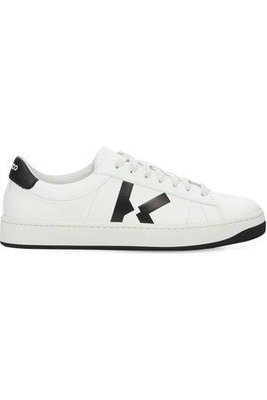 "Kenzo 20mm Hohe Sneakers Aus Leder ""court"""