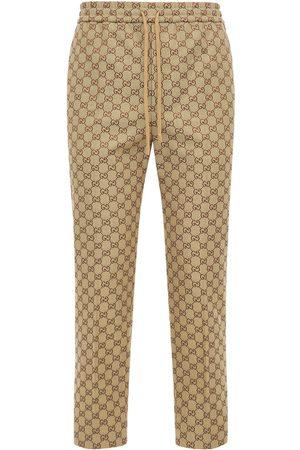 Gucci Herren Jogginghosen - Jogginghose Aus Baumwollmischcanvas