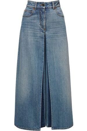 VALENTINO Jeans Aus Baumwolldenim Mit Weitem Bein