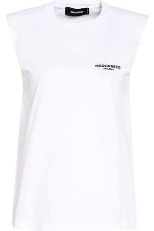 Dsquared2 Damen Shirts - Top weiss