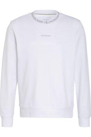 Calvin Klein Herren Sweatshirts - Sweatshirt weiss
