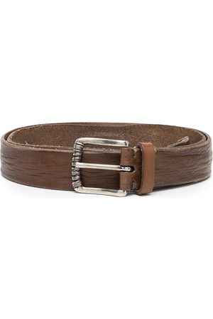 Brunello Cucinelli Herren Gürtel - Mauhy distressed-effect belt