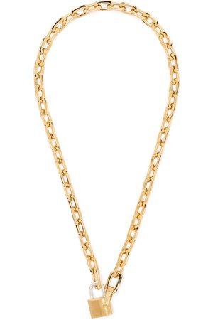 AMBUSH Halsketten - Small-padlock chain necklace