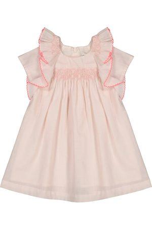 Tartine Et Chocolat Baby Besticktes Kleid aus Baumwolle