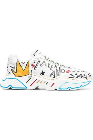 Dolce & Gabbana Hand-painted Daymaster sneakers