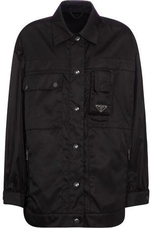 Prada Damen Outdoorjacken - Jacke aus Re-Nylon