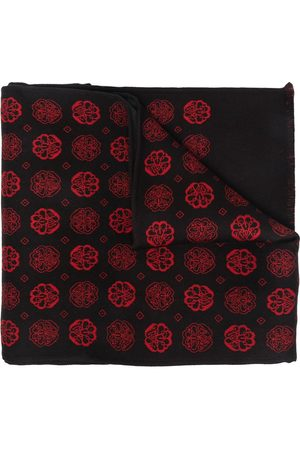 Alexander McQueen Herren Schals - Jacquard-woven scarf