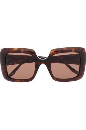 Gucci Damen Sonnenbrillen - Interlocking G square-frame sunglasses