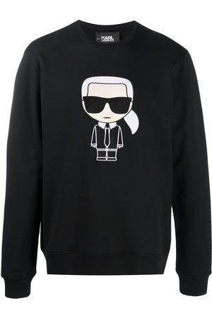 Karl Lagerfeld Herren Sweatshirts - Ikonik Karl sweatshirt