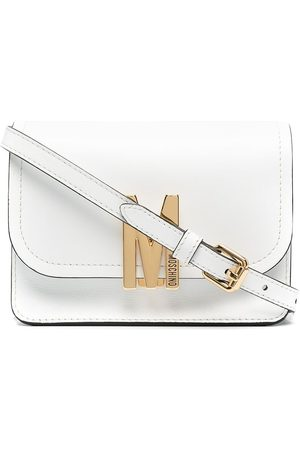 Moschino M-logo crossbody bag