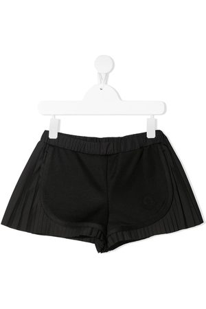 Moncler Mädchen Shorts - Panelled pleated shorts